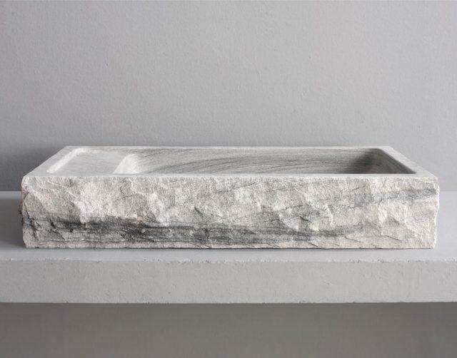 Roman Stone Bathroom Vessel Sink