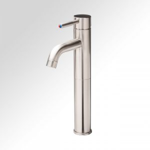 Curviz Tall Brushed Nickel Faucet