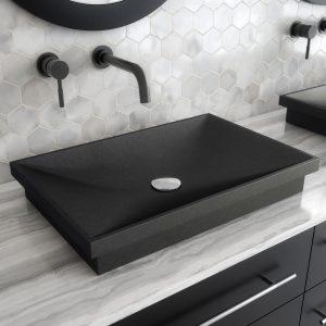 Kubrick Granite Bathroom Vessel Sink