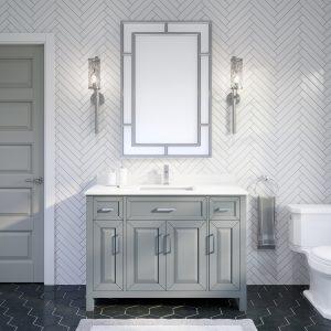 Thomson 48-inch Bathroom Cabinet in Oxford Grey