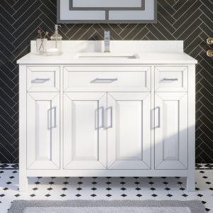 Thomson 48-inch Bathroom Cabinet in White