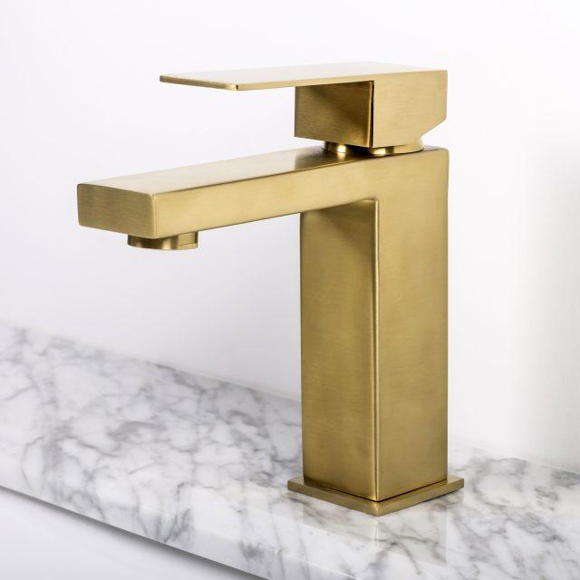 Kirk Brushed Gold Faucet