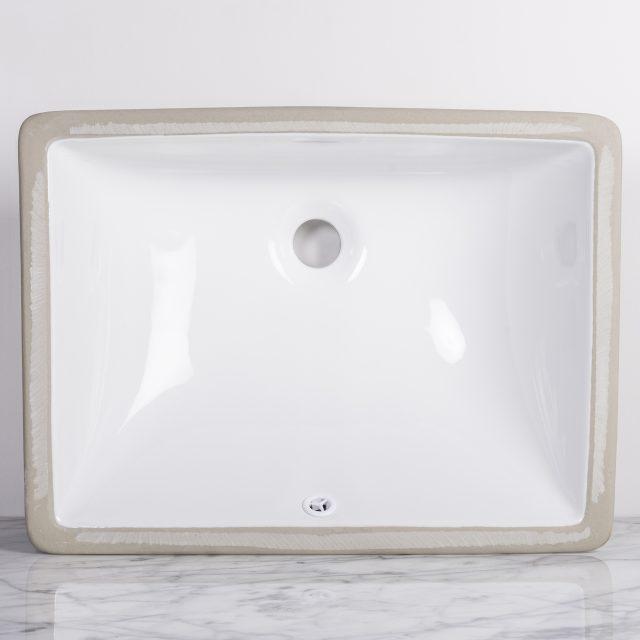 Rectangular Undermount Sink