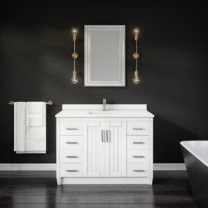 Jackie 48-inch Bathroom Vanity in White